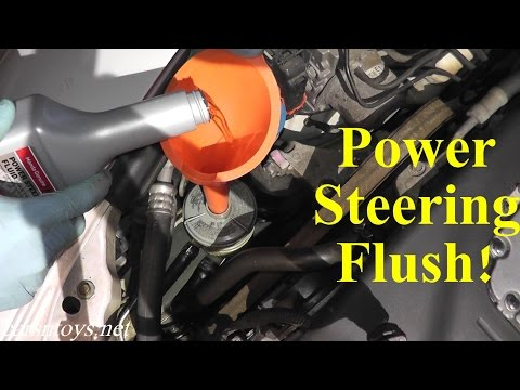 Acura TL Power Steering Flush with Basic Hand Tools HD