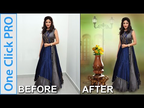 How To Change / Remove Photo Background Easily in One Click PRO - Photoshop Tutorial in Hindi