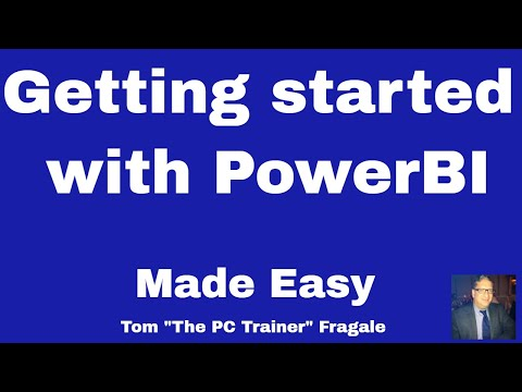 Getting Started with PowerBI - How to get started with PowerBi - PowerBi Tutorial Power Bi