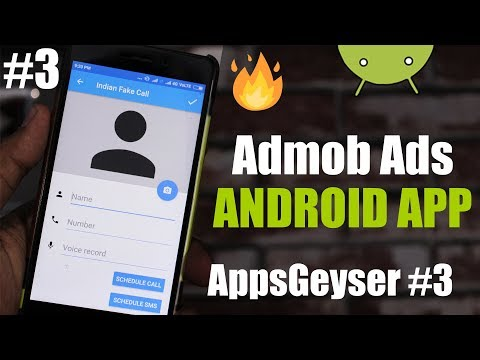 How to add admob ads in Android App - AppsGeyser #3