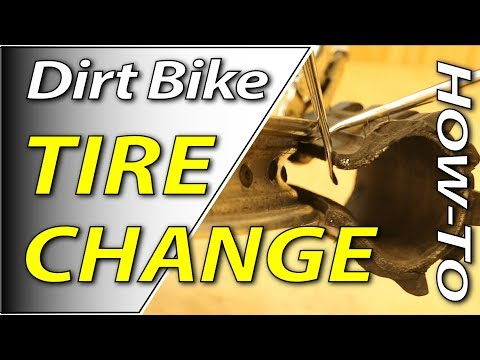 How To Change Your Dirt Bike Tire | Fix Your Dirt Bike.com