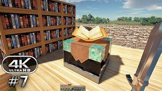 Minecraft 4K Ultra Graphics Gameplay #7 - Minecraft 4K RTX 60FPS (Minecraft Survival)