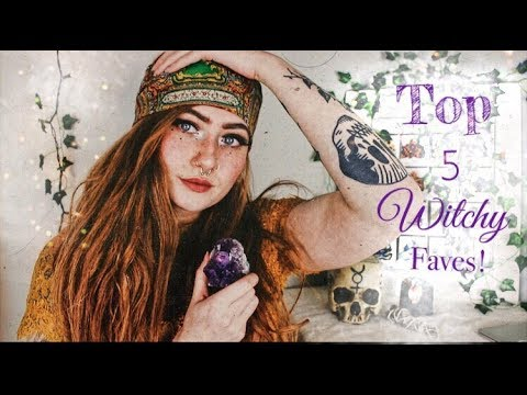 Top 5 Witchy Faves    Collaboration with Anais Alexandre
