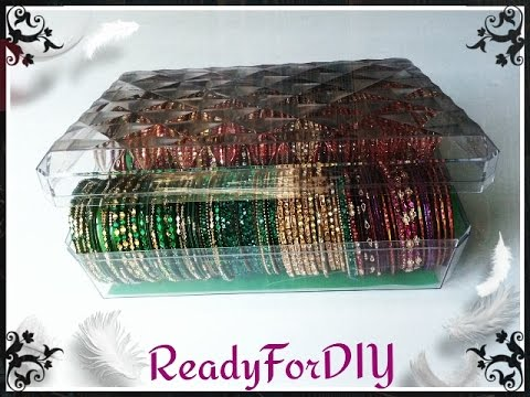 DIY Bangles | Bracelets Storage Box From Chocolate Box - Ferrero Rocher