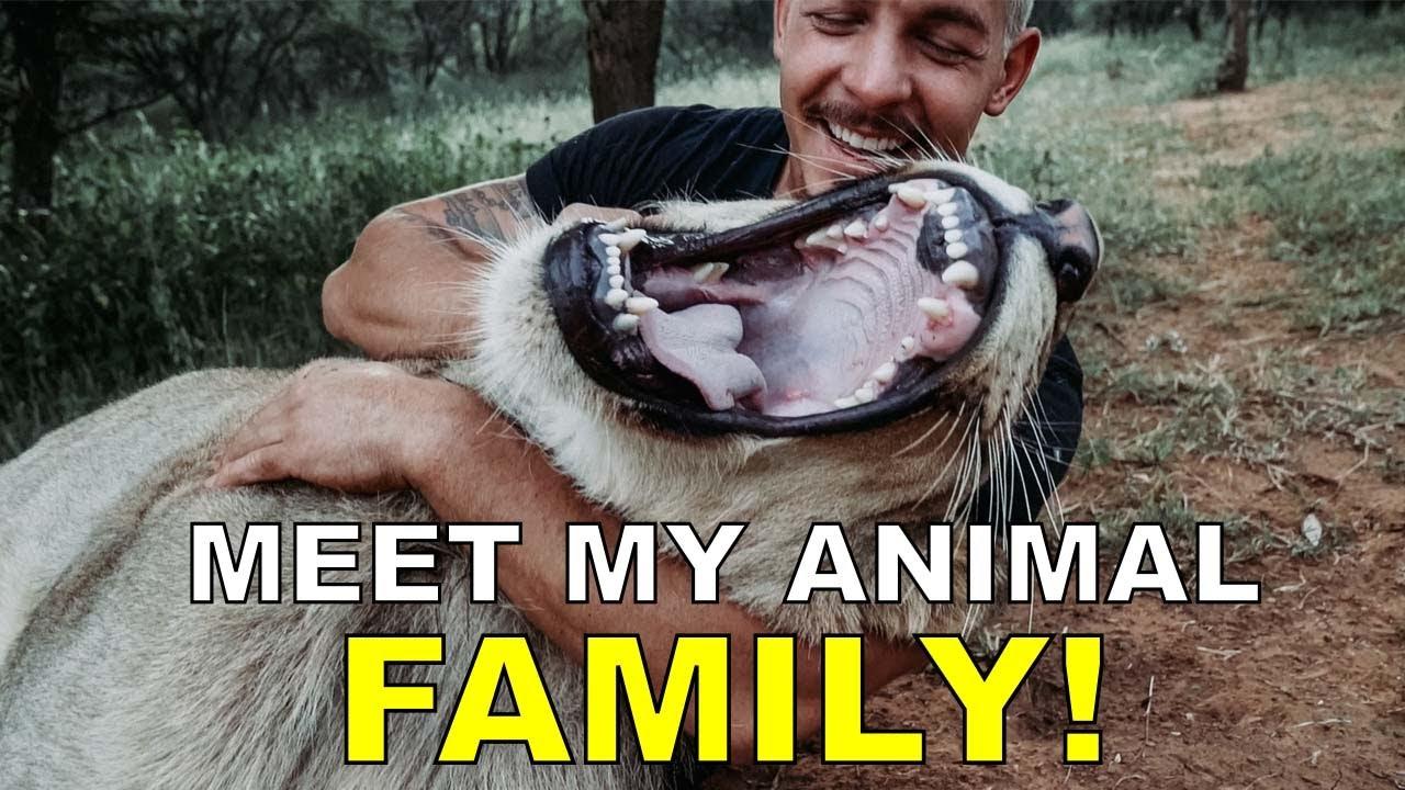 Dean Schneider - Hakuna Mipaka VLOG 6 Meet my Animal Family