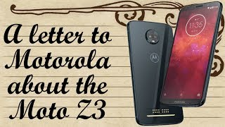 An open letter to Motorola: What