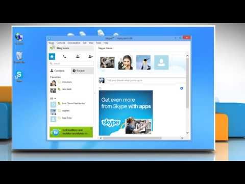 How to change Sounds for calls and notifications in Skype® on Windows® 8 PC