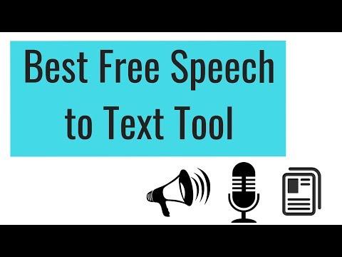 Best Free Speech to Text Tool