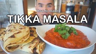 How to make TIKKA MASALA