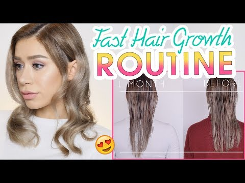 MY HAIR GROWTH ROUTINE | How I Grow Hair Fast with Hair Growth Products