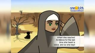 The Well of Zamzam is built by Hajar - Storytime with Zaky   HD