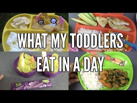 What My Toddlers Eat In A Day | Meal Ideas, Food Inspiration, Snacks