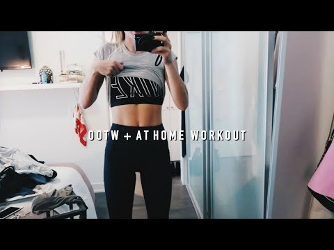 At Home Workout + Practical Fall Outfits of the Week | Allegra Shaw