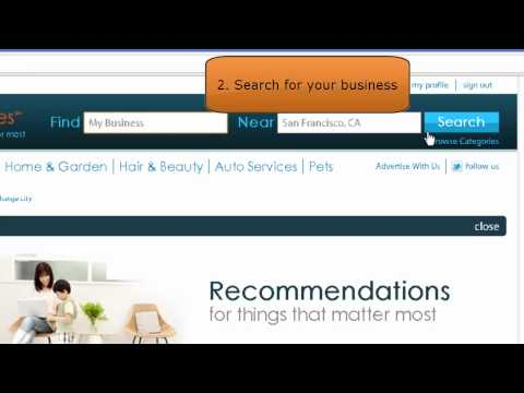 How to claim a business listing on Insider Pages