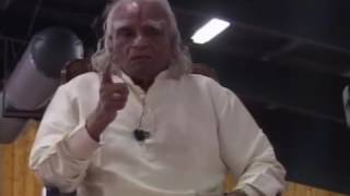 BKS Iyengar - Pranayama meditation, iyengar yoga style