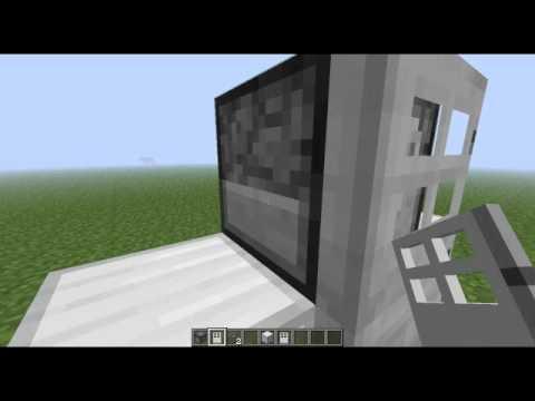 Minecraft Tutorials - How To Make A Dispenser Fridge