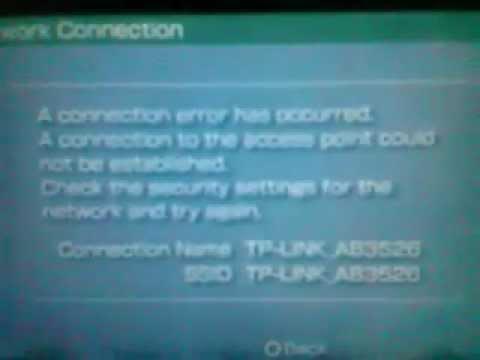 HELP!!!!!   PSP 2001 INTERNET CONNECTION PROBLEM ( CAN'T CONNECT INTO ROUTER)