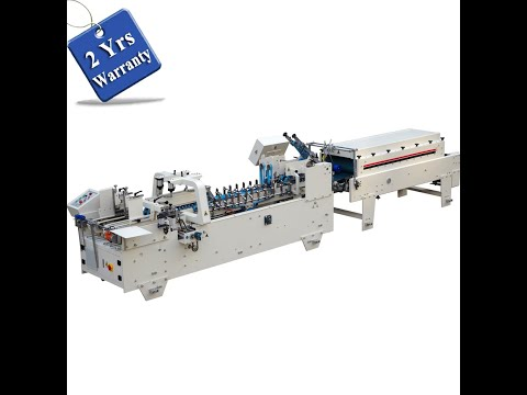 UFG800 Automatic Paper Cup Sleeves Folding and Gluing Machine