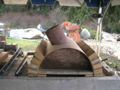 Wood Fired Pizza Oven & Outdoor Fireplace