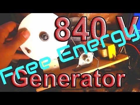 How to Make ''Easy Way'' 350V (Max 830V AC) Generator