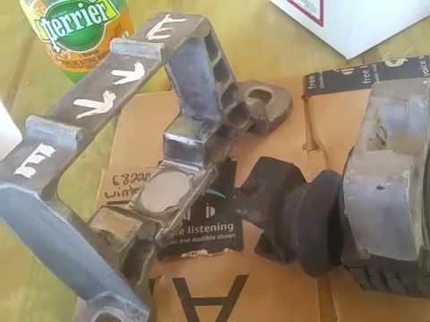 Mazda 5/3 passenger engine mount crappy Ford part (BEWARE!)