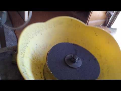 Hillbilly lapidary machine 1 (flat lap)