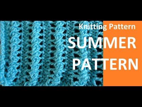 Knitting Pattern '* EASY SUMMER PATTERN *