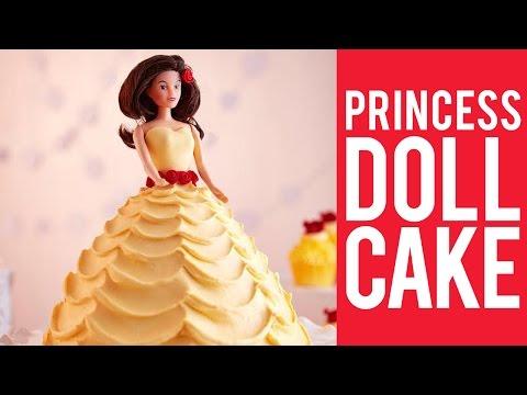 How to Make a Princess Doll Cake
