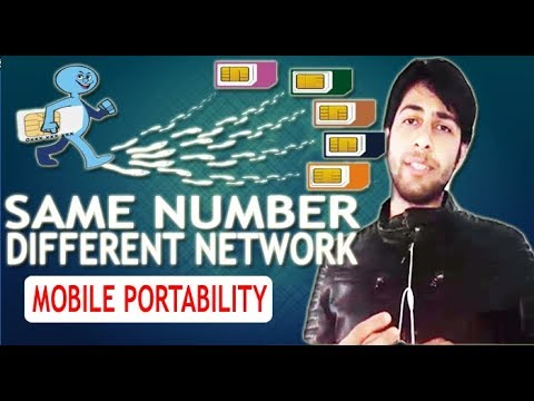 How to Port Mobile Number from One Network to Another | Mobile Number Portability