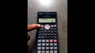 How To Convert From Radian To Degree Using Calculator
