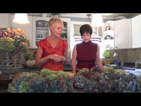 Take Two How To /Hydrangea Wreath www.taketwoministries.org