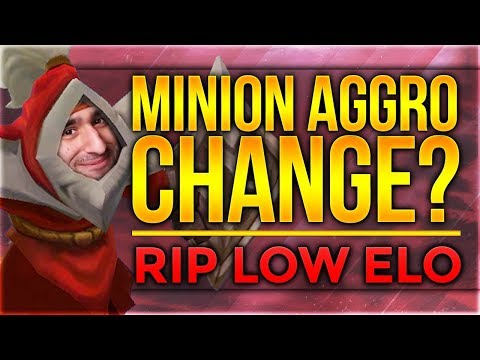 Minion Aggro Change? RIP LOW ELO??? [League of Legends] [Deutsch / German]