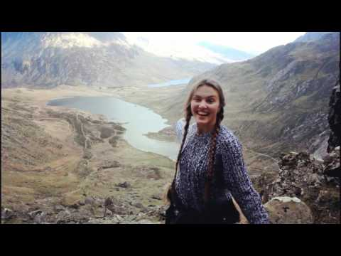 Our first mountain scrambling experience: Snowdonia - Glyder Fawr