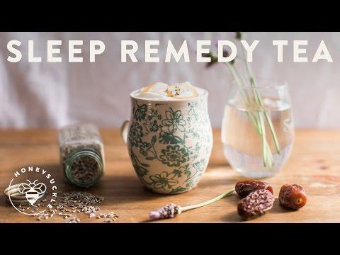 Sleep Remedy Tea (Lavender Date Honey) - Honeysuckle