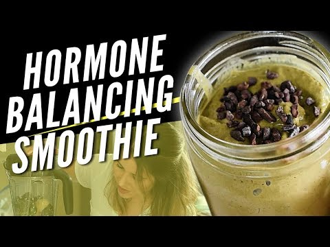 Delicious Hormone Balancing Smoothie for Healthy Skin