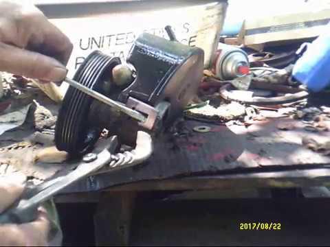 Replacing Power Steering Pump Tank on 1998 Jeep Cherokee
