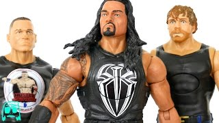 Roman Reigns, John Cena, Dean Ambrose Tough Talkers WWE Mattel Toys Unboxing & Review!!
