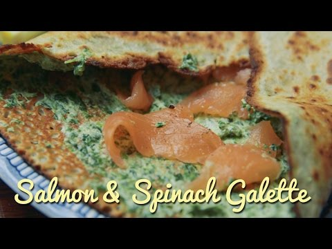 Salmon & Spinach Galette | Crumbs