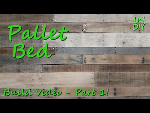 Pallet Bed - Build video (1/3)