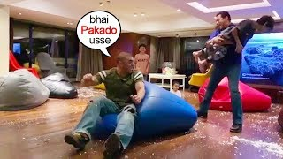 See Salman Khan Playing With Sohail Khan's Younger Son Yuhaan At His Birthday Party Will Melt U