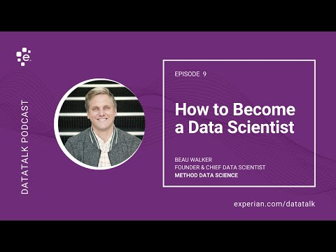 How to Become a Data Scientist w/ @BeaujWalker #DataScience #DataTalk