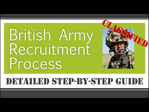 British Army Recruitment Process – Detailed Step-by-Step Guide
