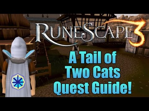 Runescape 3: A Tail of Two Cats Quest Guide!