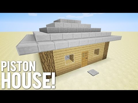 Minecraft: 9x9 Piston House