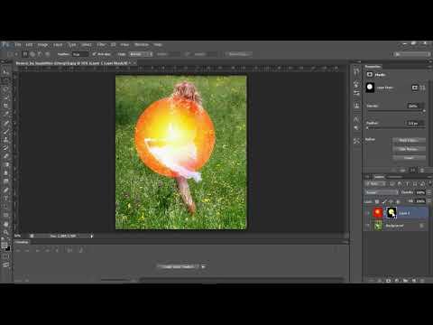 Photoshop tutorial: Creating artificial sun