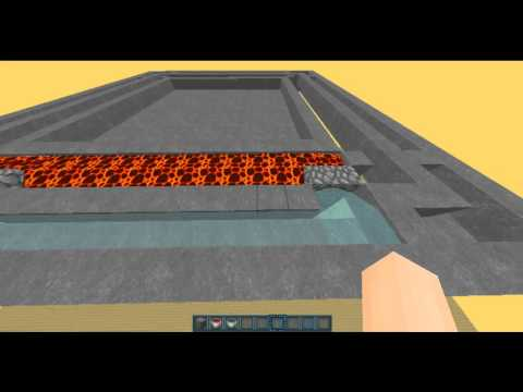 Minecraft Factions 1.7-1.8 How to Build Cobble Walls Fast!