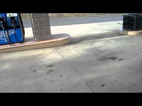 Fuel Station Pressure Washing Cleaning Time and Materials Survey