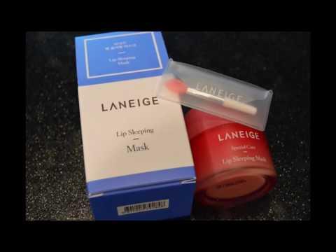 LANEIGE: Lip Sleeping Mask, Water Sleeping Mask & SoltreeBundle Hemp Paper Review