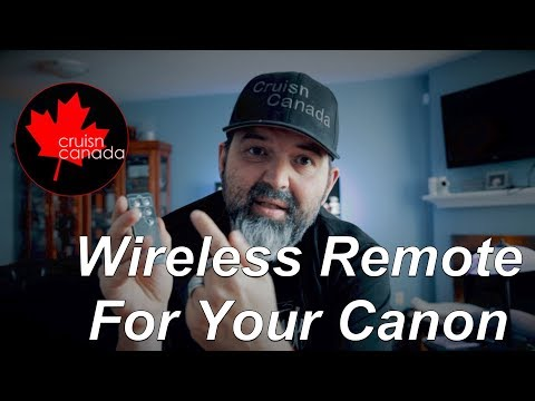 How to Wirelessly Trigger your DSLR for Photo and Video (Canon)!