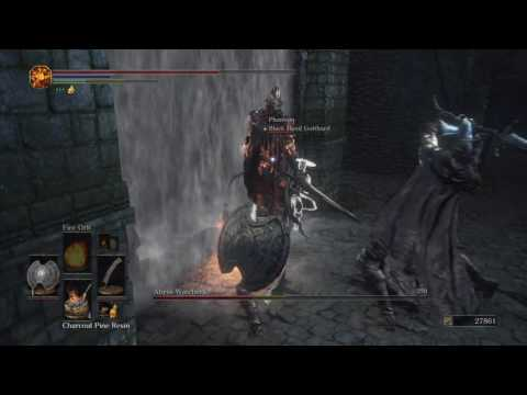 DARK SOULS III (PS4) - Abyss Watchers with Black Hand Gotthard Summon